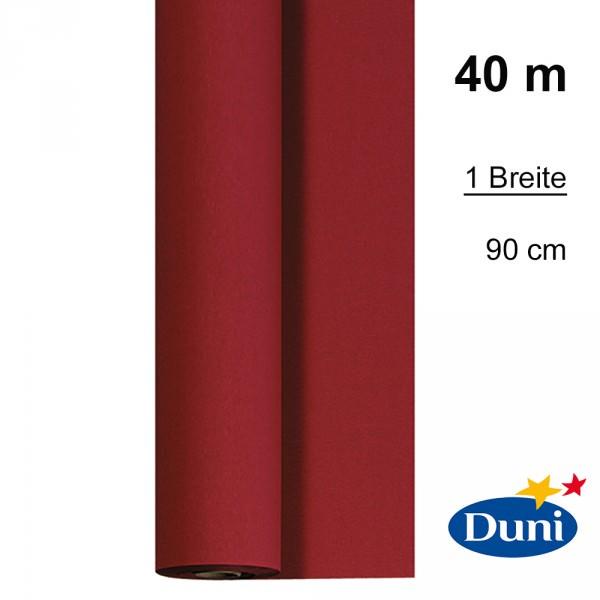 Partytischdecke.de | Tischdecke 0,90 x 40 m Dunicel bordeaux