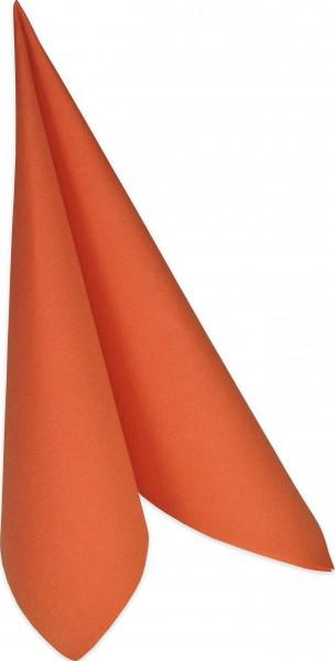 Partytischdecke.de | Serviette Duni Dunilin 40x40 mandarin 50 Stück