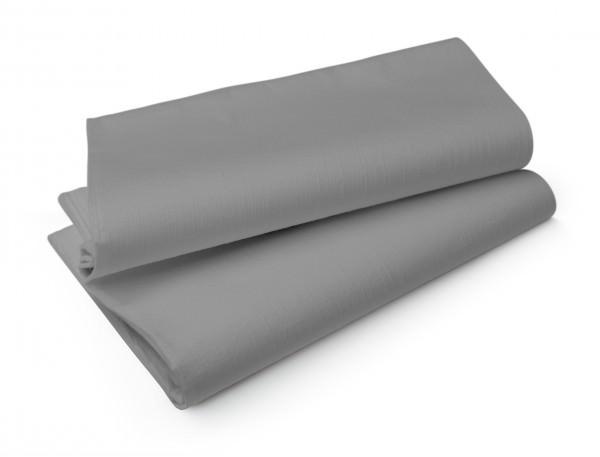 Partytischdecke.de | Mitteldecke 84 x 84 cm Duni Evolin granite grey 20 Stück