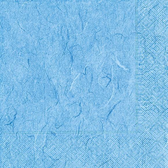 Servietten 25x25 Pure light blue 20 Stück