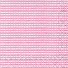 Partytischdecke.de | Servietten 33x33 Vichy rose 20 Stück