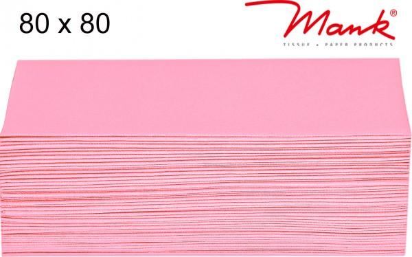 Partytischdecke.de | Mitteldecke 80 x 80 cm Mank Linclass rosa