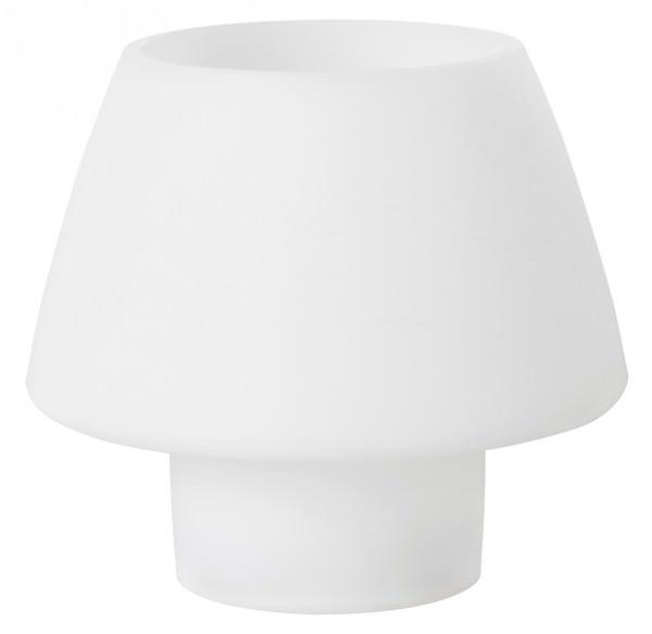 Partytischdecke.de | Teelichthalter Duni Moody Ø 129x123 mm weiss