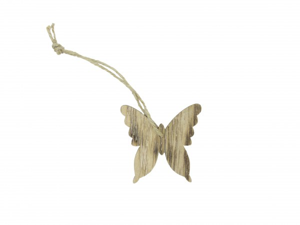 Partytischdecke.de   Streuschmuck Schmetterlinge aus Holz Ø 5 cm
