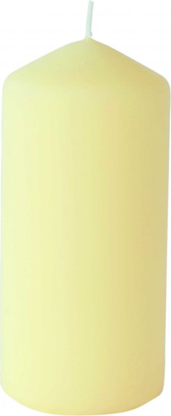 Partytischdecke.de | Stumpenkerzen 7x15 Duni matt cream 6 Pack