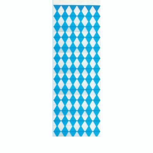 Partytischdecke.de | Wand-Banner 160x42cm Bayerisch-Blau 1 Stück
