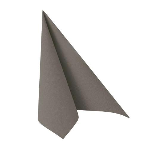 Partytischdecke.de | Serviette 40x40 Royal grau taupe 20 Stück