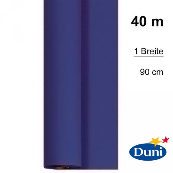 Partytischdecke.de | Tischdecke Duni Dunicel dunkelblau 0,90 x 40 m