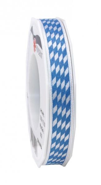 Partytischdecke.de | Band BAVARIA weiss-blau 15-mm x 20-m-Rolle