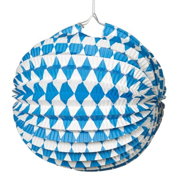 Partytischdecke.de | Textilbanner Oktoberfest, weiß-blau