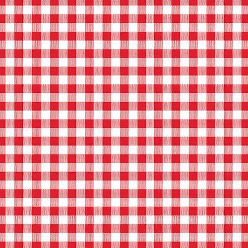 Servitten rot weiß 1 lagig von Papstar Serie Economy 100 Stück