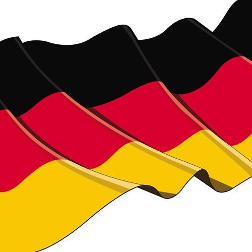 Partytischdecke.de | Serviette Papstar 33x33 Germany 50er Pack