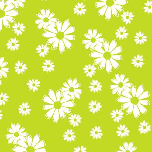 Partytischdecke.de | Serviette 33x33 | Blomma limonengrün | 30 Stück