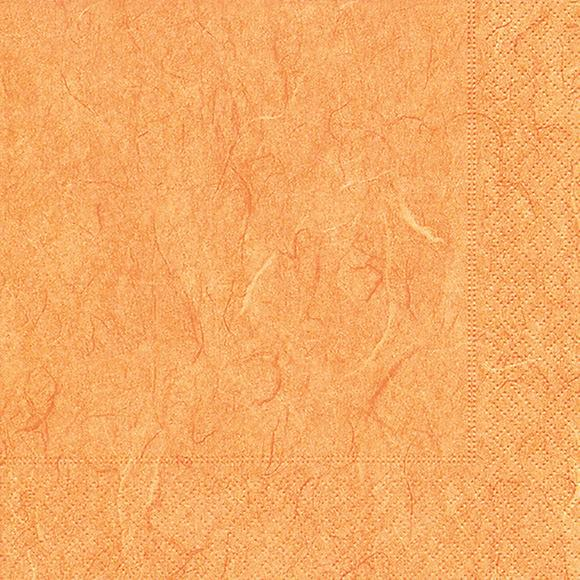 Servietten 25x25 Pure orange 20 Stück