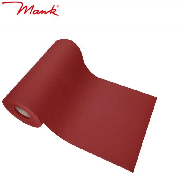 Partytischdecke.de | Tischband Mank Linclass 20 cm x 20 m bordeaux