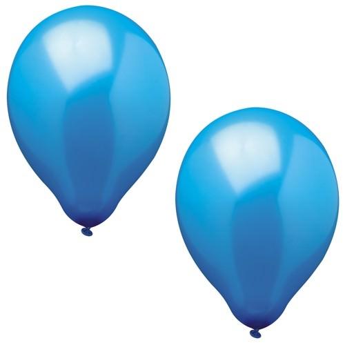 Partytischdecke.de | Luftballons Ø 25 cm blau 100 Stück