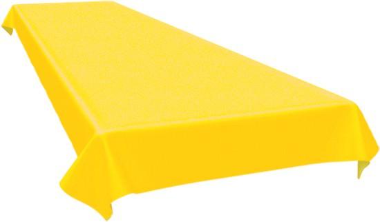 Partytischdecke.de | Duni Tischdecke Dunicel 125 x 160 cm gelb