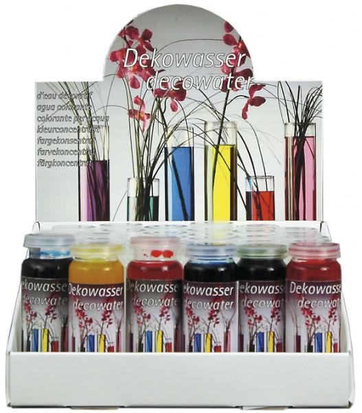 Partytischdecke.de | Dekowasser 20 ml Glasfläschen pink