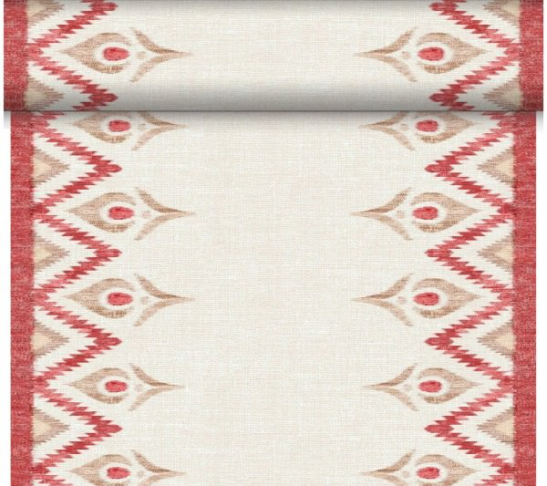 Duni Tischläufer 40 cm x 24 m Dunicel Malina bordeaux