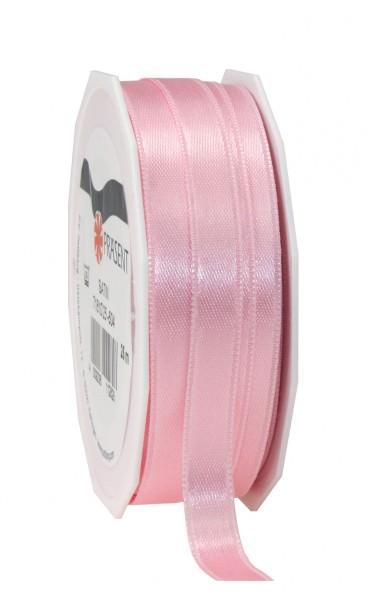 Partytischdecke.de | Satin Premium Band 10 mm x 25 m hellrosa