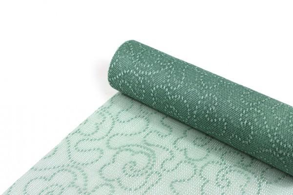 Sizolace Flock pastellgrün Vorteils-Rolle 30 cm x 25 m