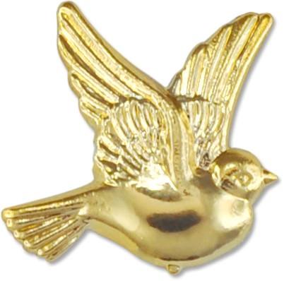 Partytischdecke.de | Deko-Taube gold Größe 21x21 15 Stück