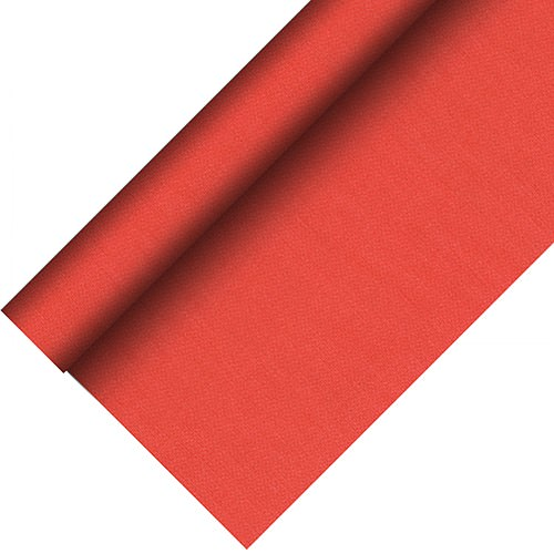 Partytischdecke.de | Tischdecke bio 1,18 x 20 m Royal-Collection-Plus rot 1 Rolle