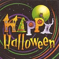 Partytischdecke.de | Servietten 25x25 Happy Halloween 20 Stück