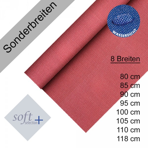 Partytischdecke.de   Tischdecke Soft Selection Plus bordeaux Auswhl