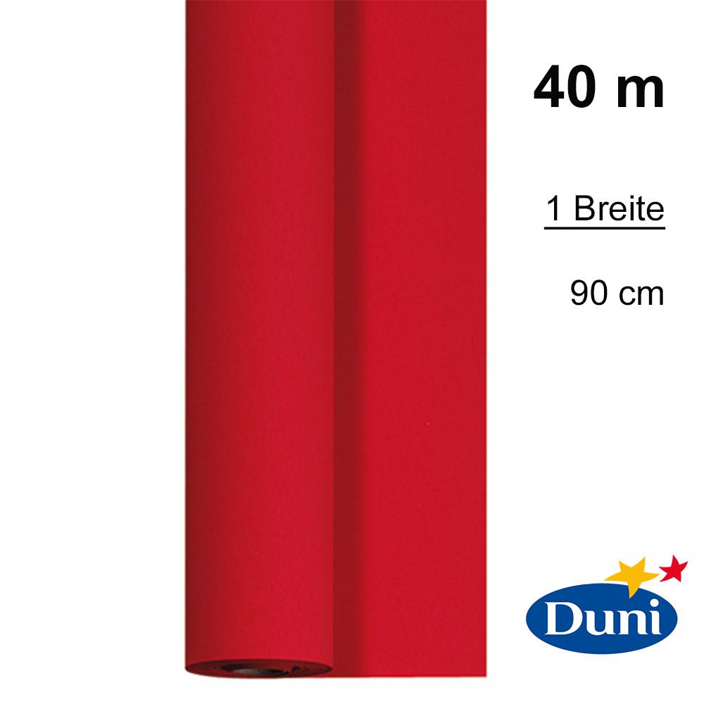 tischdecke 0 90 x 40 m dunicel rot in gro er auswahl von duni jetzt ausw hlen. Black Bedroom Furniture Sets. Home Design Ideas
