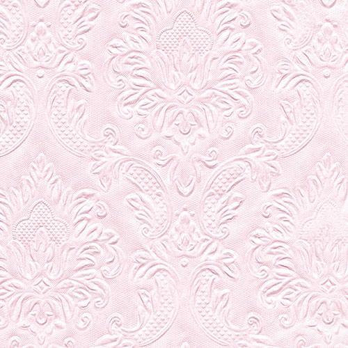 Partytischdecke.de | Serviette hellrosa 33x33 Moments Ornament 16 Stück