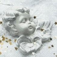Partytischdecke.de | Servietten 33x33 Peaceful angel 20 Stück
