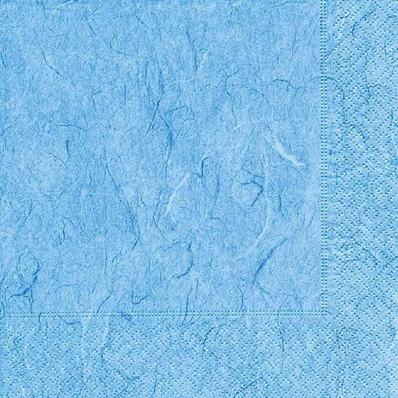 Servietten 33x33 Pure light blue 20 Stück