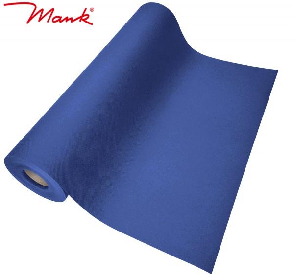 Partytischdecke.de | Tischläufer Mank Linclass 40 cm x 24 m royalblau