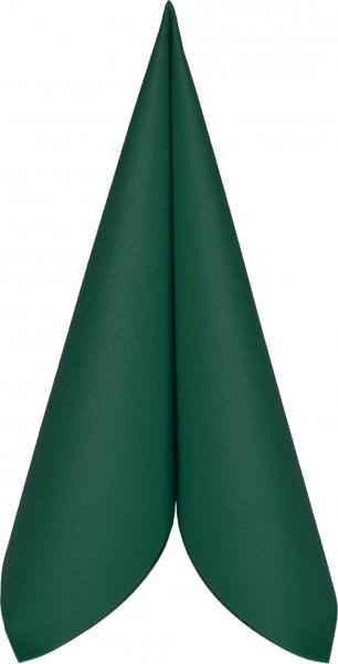 Partytischdecke.de | Serviette Mank Linclass 25x25 dunkelgrün 50 Stück