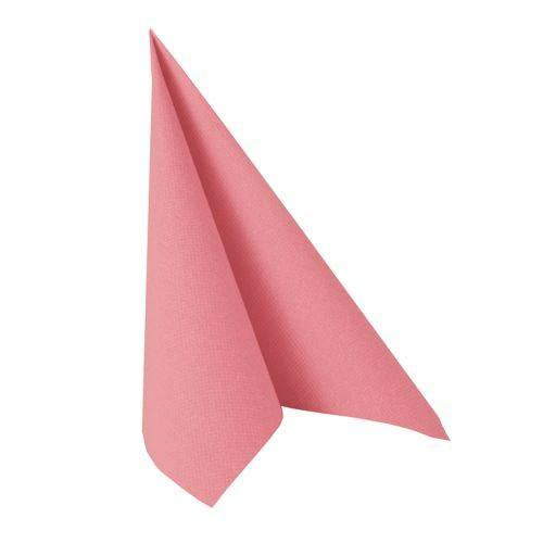 Partytischdecke.de | Serviette 40x40 Royal rosa 50 Stück