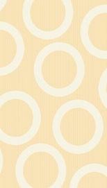 Partytischdecke.de | Tischdecke 1,2 x 5 m Circle creme