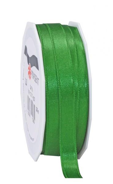 Partytischdecke,de | Satin Premium Band 10 mm x 25 m apfelgrün
