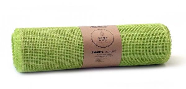 Partytischdecke.de | Juteband limone Eco Line 30 cm x 5 m