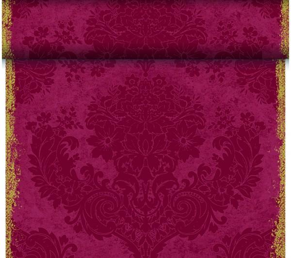 Partytischdecke.de | Duni Tischläufer 40 cm x 24 m Dunicel Royal Bordeaux