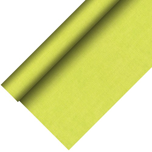 Partytischdecke.de | Tischdecke bio 1,18 x 20 m Royal-Collection-Plus kiwi 1 Rolle