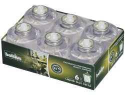 Partytischdecke.de | Bolsius Liquid Wax Refill 6er Pack