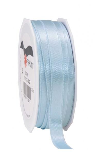 Partytischdecke.de | Satin Premium Band 10 mm x 25 m hellblau