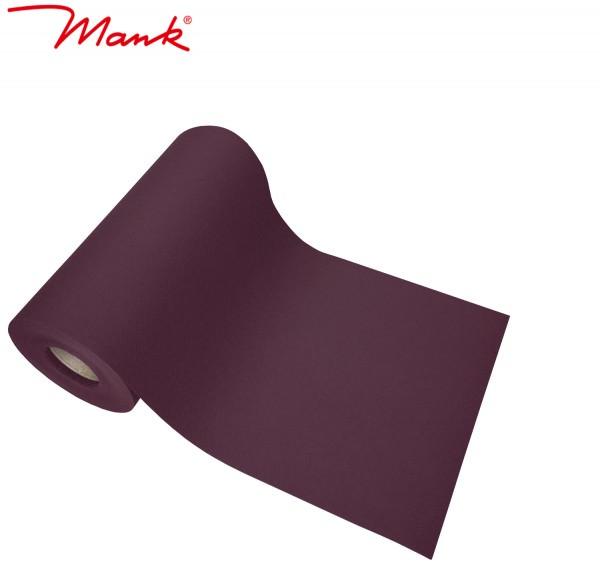 Partytischdecke.de | Tischband Mank Linclass 20 cm x 20 m pflaume