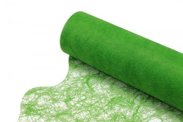 Partytischdecke.de | Sizoflor Wave apfelgrün Vorteils-Rolle à 25 m x Breite