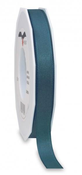 Partytischdecke.de | Satin Premium Band 15 mm x 50 m petrol