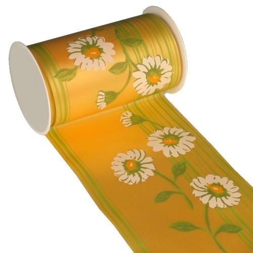 Partytischdecke.de | Tischband Textill 11 cm x 5 m gelb Daisy