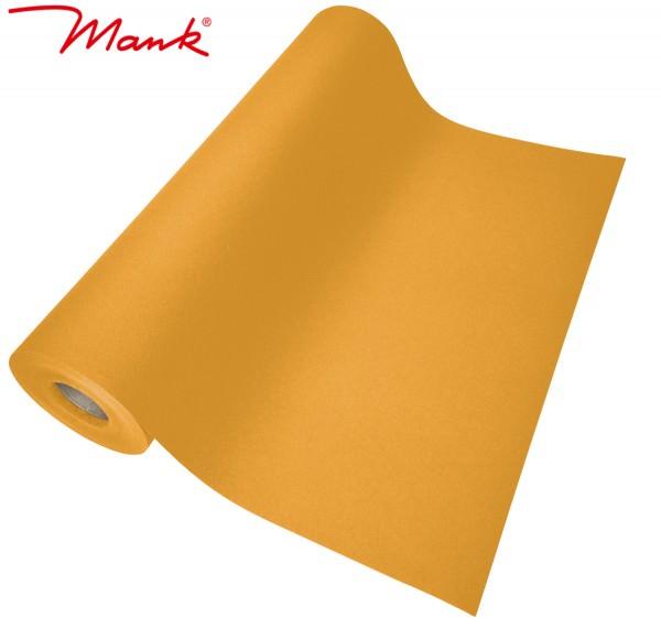 Partytischdecke.de | Tischläufer Mank Linclass 40 cm x 24 m orange