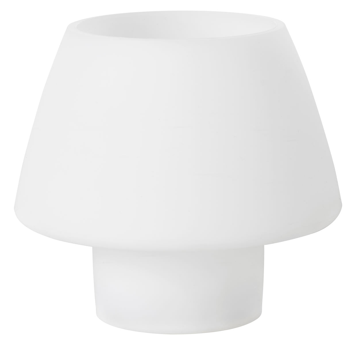 teelichthalter duni moody 129x123 mm weiss 1 st ck in. Black Bedroom Furniture Sets. Home Design Ideas