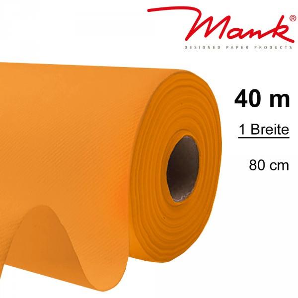 Partytischdecke.de | Tischdecke Mank Linclass 0,80 x 25 m orange